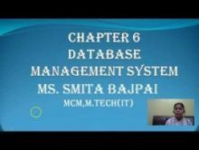 Computer Science And IT - Database Management System Chapter-VI Part I Video by Pluto Innovations