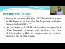 Computer Science And IT - Enterprise Resource Management Chapter-X Part II Video by Pluto Innovations