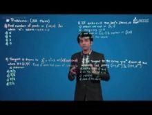 Methods Of Differentiation & Applications Of Derivatives - Problems - JEE Mains Video By Plancess
