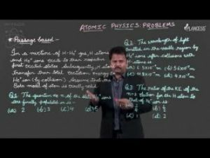 Modern Physics - Atomic Physics - Problems Video By Plancess