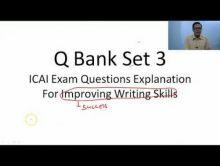 Audit And Assurance - Question Bank Set III Chapter-XIV Video by Revantasuntech
