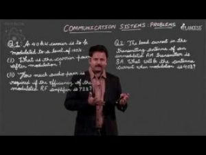 Semi-Conductor And Communication System - Communication System - Problems Video By Plancess