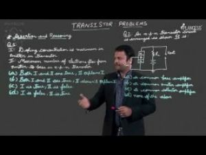 Semi-Conductor And Communication System - Transistor - Problems Video By Plancess