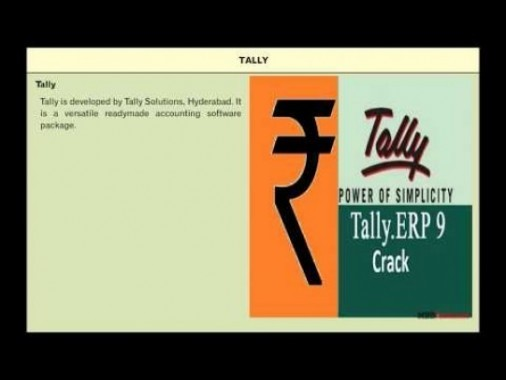 Class 11 Accounts - Accounting Software Package - Tally Video by MBD Publishers
