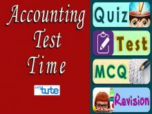 Class 11 Accountancy - Accounting Test Time - Journal Entries Video by Let's Tute