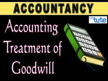 Class 11 & 12 Accountancy - Accounting Treatment Of Goodwill Part-II Video by Let's Tute
