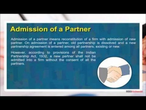 Class 12 Accounts - Admission Of A Partner Video by MBD Publishers