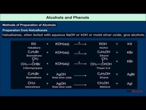 Class 12 Chemistry - Alcohols And Phenols Video by MBD Publishers