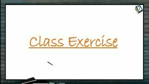 Alcohols, Phenols And Ethers - Class Exercise (Session 11 & 12)