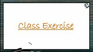 Alternating Current - Class Exercise (Session 1)