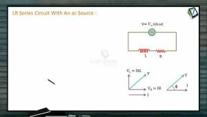 Alternating Current - Lr Series Circuit With An AC Source (Session 3)