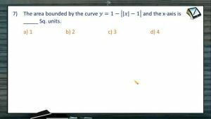 Area Under Curves - Problems 3 (Session 3 & 4)