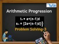 Class 10 Mathematics - Arithmetic progression Problem Solving Tn And Sn Video by Lets Tute