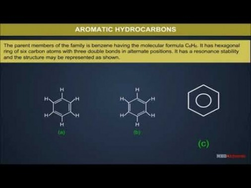 Class 11 Chemistry - Aromatic Hydrocarbons Video by MBD Publishers