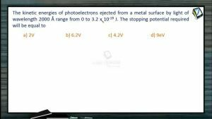 Atomic Physics - Class Exercise-2 (Session 1, 2 & 3)