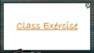 Atomic Physics - Class Exercise (Session 9 & 10)