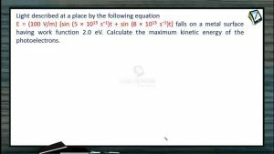 Atomic Physics - Example-6 (Session 1, 2 & 3)