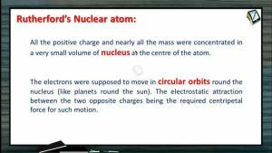 Atomic Physics - Rutherfords Nuclear Atom (Session 4 & 5)