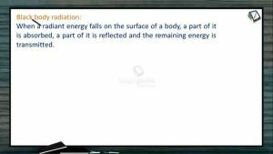 Atomic Structure - Black Body Radiation (Session 2 & 3)