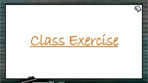 Atomic Structure - Class Exercise (Session 1)