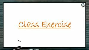 Atomic Structure - Class Exercise (Session 2 & 3)