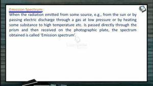 Atomic Structure - Emission Spectrum (Session 4)