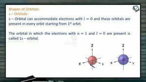 Atomic Structure - Shapes Of Orbitals (Session 8 & 9)
