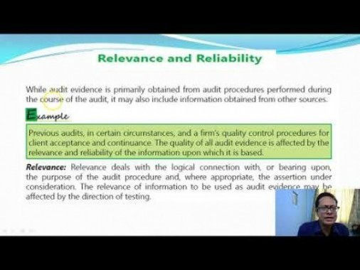 Audit And Assurance - Audit Documentation And Audit Evidence Chapter-III Part III Video by Revantasuntech