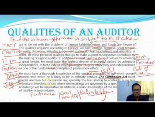 Audit And Assurance - CA Intermediate New Course of ICAI Chapter-I Part IV Video by Revantasuntech
