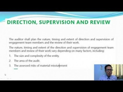 Audit And Assurance - Audit Strategy Planning And Audit Programme New Course Of ICAI Chapter-II Part II Video by Revantasuntech