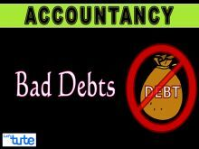 Class 11 Accountancy - Bad Debt- Adjustment Entries Video by Let's Tute