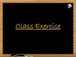 Binomial Theorem - Class Exercise (Session 5 & 6)