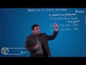 Binomial Theorem - Properties Of Binomial Coefficient-V Video By Plancess