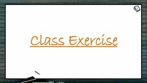Biological Classification - Class Exercise (Session 5)
