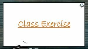 Biological Classification - Class Exercise (Session 8)