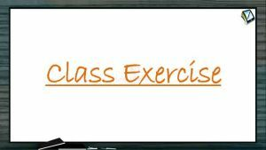 Biomolecules - Class Exercise (Session 1)