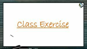 Biomolecules - Class Exercise (Session 6)