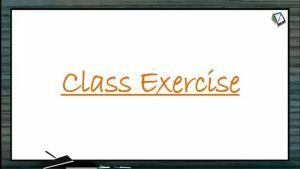 Body Fluids And Circulation - Class Exercise (Session 11)