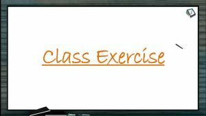 Body Fluids And Circulation - Class Exercise (Session 2)