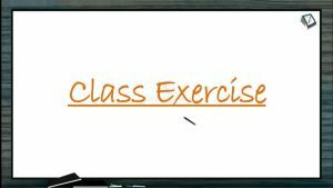 Body Fluids And Circulation - Class Exercise (Session 3)