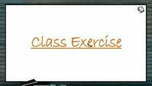 Body Fluids And Circulation - Class Exercise (Session 5)