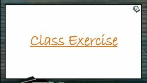 Body Fluids And Circulation - Class Exercise (Session 7)
