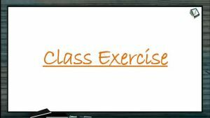 Body Fluids And Circulation - Class Exercise (Session 8)