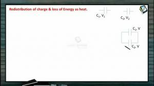 Capacitors - Redistribution Of Charge And Loss Of Energy As Heat With Examples (Session 8 To 10)