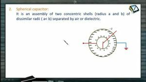 Capacitors - Spherical Capacitor (Session 1 To 3)