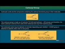 Class 12 Chemistry - Carboxyl Group Video by MBD Publishers