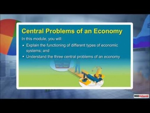 Class 12 Microeconomics - Central Problems Of An Economy Video by MBD Publishers