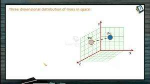 Centre of Mass - Three Dimentional Distribution Of Mass In Space (Session 1)