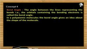 Chemical Bonding - Bond Angle (Session 10)