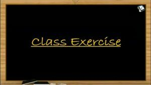 Chemical Bonding - Class Exercise (Session 11)